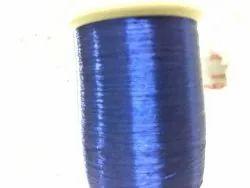 Blue Color Zari Kasab