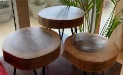 Wooden Table Stands