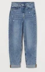 Many High Rise Ladies Mom Jeans Regular