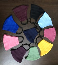 Reusable Cotton Face Mask With Heavy Soft Elastic