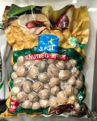 Nutmeg Without Shell, Packaging: Packet