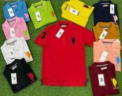 US POLO Cotton Matty T Shirt, Age Group: 17-50
