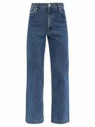 Ladies Mom Fit Jeans Straight