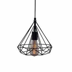 Edison Filament Diamond Cage Hanging