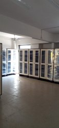 Modi Guard Mild Steel Kanan Glass Door, For Office
