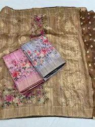 Digital Silk Saree