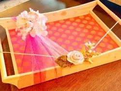 Wooden Wedding Tray