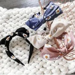 Floral Imported Cotton Headband