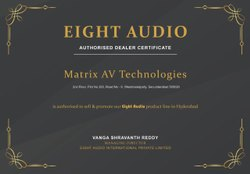 5.1 Black Eight Audio Home Theater Speakers
