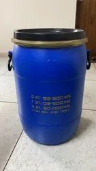 Blue Chemicals 50 Litre Drums, For Packaging Industry, Capacity: 50-100 litres