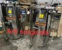 Double Tray Stainless Steel Vertical Autoclave