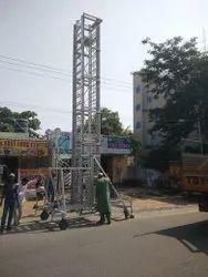 Crystal Aluminium Tower Ladder