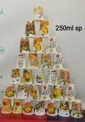 250Ml Juice Paper Cups