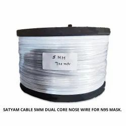 Satyam Cable 5Mm Dual Core Nose Wire