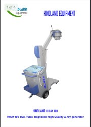 X Ray Machine 100Ma Mobile