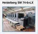 Heidelberg Sm-74+6Lx Offset Printing Machines