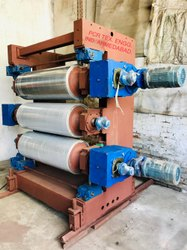 3 Rolls Calander Unit For Plastic Sheet