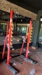 U Fit Squat Rack with Chinup