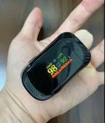 A2 Black Silicon Pulse Oximeter 1 Year Warranty