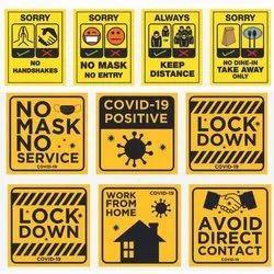 Coronavirus Stickers