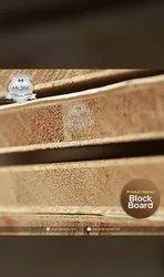 Poplar Block Board, Matte, Thickness: 8X4