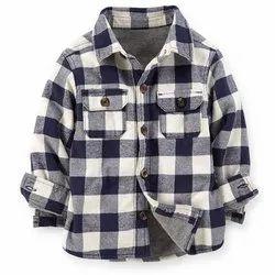 Sherpa Lined Kids Shirt