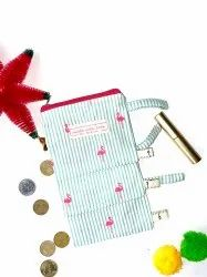 Regular Cotton Coin Pouch, Size/Dimension: Approx. 3 X 2 Inch