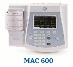 Ecg Machine, Ge, Number Of Channels: 3 Channels