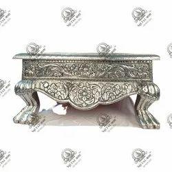 Silver Pooja Chowki