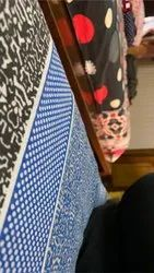 Blue Polyester Multipurpose Jute Bags