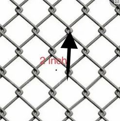 2 Inch Galvanised Chainlink Fence