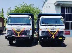 Tata Tipper Trucks On Rental Services