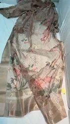 Floral Organza Saree