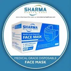 Sharma 3 Ply Disposable Face Mask