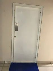 Stainless Steel Powder Coated Metal Toilet Door, Single, Thickness: 46mm & 36mm Thick Thick
