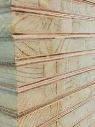 Brown Hardwood Pine Block Board, For Furniture, Thickness: 22mm