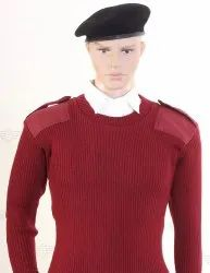 Military Pullover Sweater Jersey