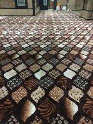 Polypropylene Banquet Hall Carpet, For Hotel, Size/Dimension: 12ft