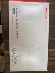 Honeywell nitrile disposable hand gloves