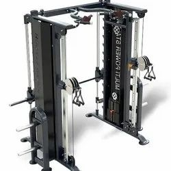 Imported functional trainer with smith machine