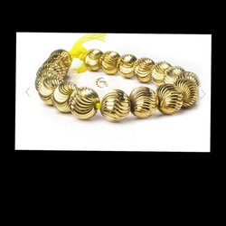 Brass Beads S Cut