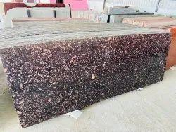 Polished Cadbury Brown Granite, Thickness: 15-20 mm