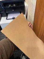 Wood Pulp Coated Brown Kraft Paper, Packaging Type: Roll, 50-300