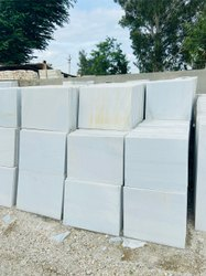 Nijarna White Marble Tiles, For Flooring, Thickness: 17 mm