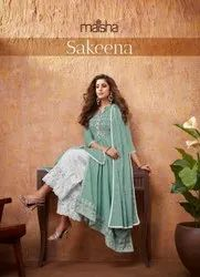 Maskeenji Readymade Cotton Designer Salwar Kameez