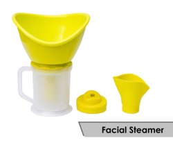 Facial Steamer And Vaporizer 3 In 1