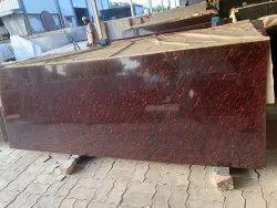 Polished Cottan Red Granite, Thickness: 15-20 mm