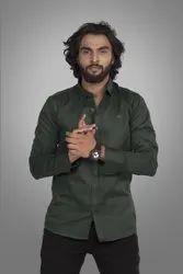 Bambai Lifestyle Men's Plain Casual Shirt
