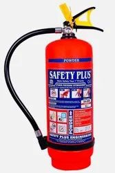 Safety Plus Dry Chemical Powder Based Fire Extinguisher Supplier