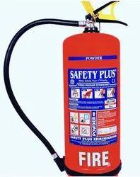 9 Kg ABC Universal Purpose Fire Extinguisher Safety Plus Make.